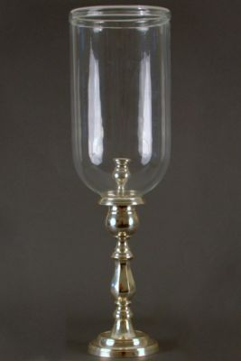 ENGLISH CANDLESTAND CLEAR SILVER