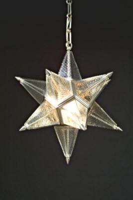 MORAVIAN STAR PENDANT BRICK