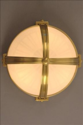 PLAFONNIER CLASSIC SCROLL OPALINE