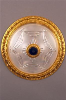 PLAFONNIER PHILADELPHIA II TASSEL (CUTGLASS) LENS