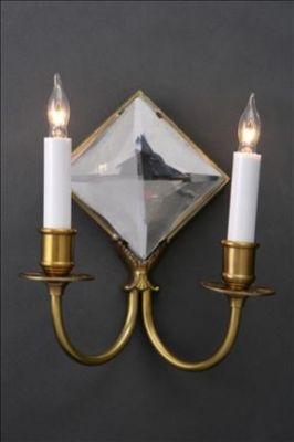 Mirror Sconce Diamond R