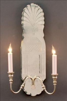 Mirror Sconce New England
