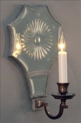 Mirror Sconce Star L