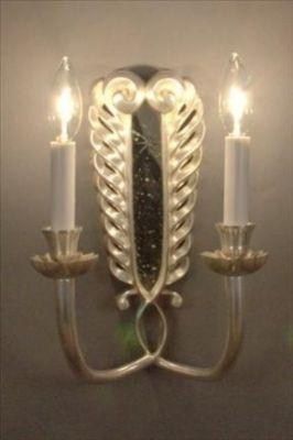 Mirror Sconce Art Nouveau
