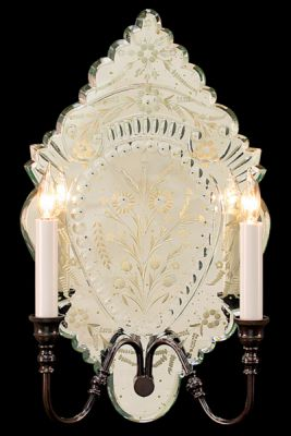 Mirror Sconce French