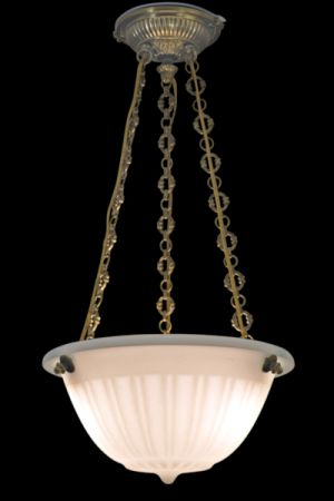 OPALINE LENS CHANDELIER ARIADNE CROSS CHAIN