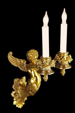 Decorative Sconce Cherub