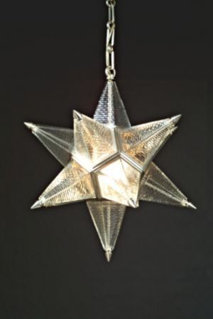 MORAVIAN STAR PENDANT DIAMOND