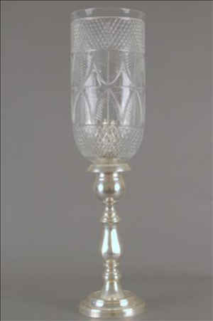 ENGLISH CANDLESTAND REGENCY II SILVER