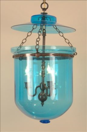 COLOR BELL LANTERN SKY BLUE