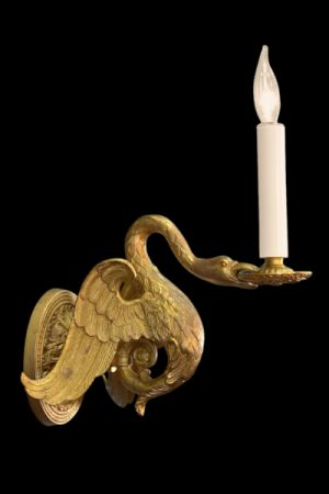 Decorative Sconce Swan