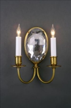 Mirror Sconce Oval R