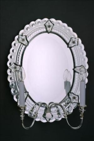 Mirror Sconce Oval