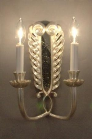 Mirror Sconce Art Nouveau