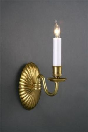 DECORATIVE SCONCE COQUILLE