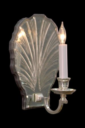 Mirror Sconce Shell L