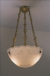 OPALINE LENS CHANDELIER ATHENA FLORAL CHAIN