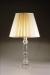 CRYSTAL COLUMN LAMP CYLINDRICAL BASE