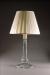 CRYSTAL COLUMN LAMP OCTAGONAL ROUND BASE