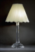 CRYSTAL COLUMN LAMP OCTAGONAL SQUARE BASE